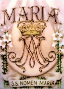 SANTO NOMBRE DE MARÍA