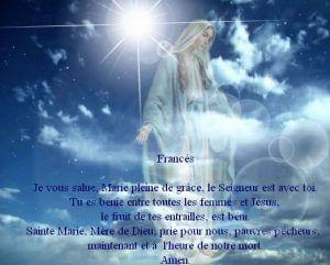 Ave María en Francés