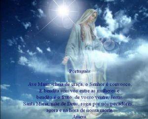 Ave María en Portugues