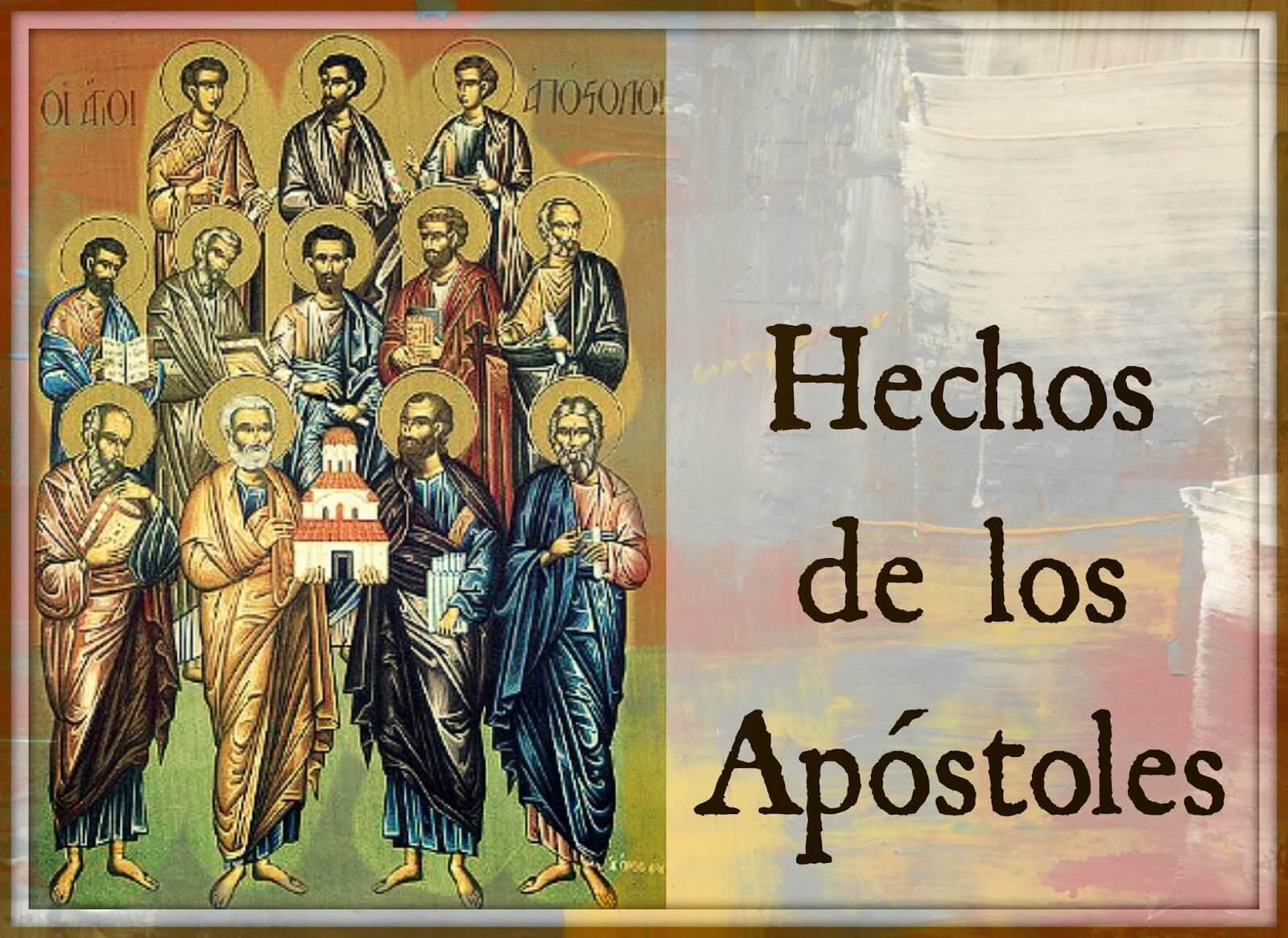 HECHOS DE LOS APOSTOLES - LIBRO DE LA BIBLIA
