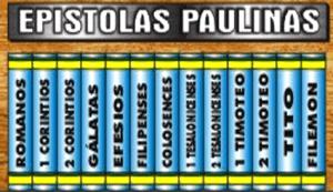 EPÍSTOLAS PAULINAS