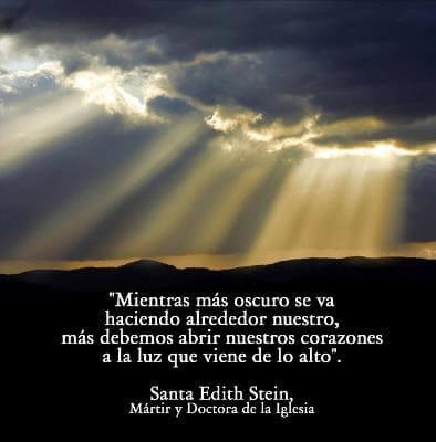 Santa Teresa Benedicta De La Cruz Edith Stein 9 De Agosto