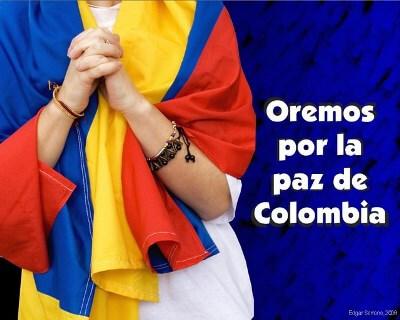 Resultado de imagen para jornada de oracion por colombia