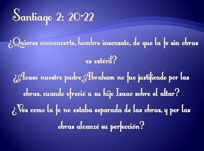 SANTIAGO 2:20-22
