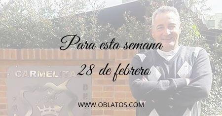 PARA ESTA SEMANA FEBRERO 28 DE 2021