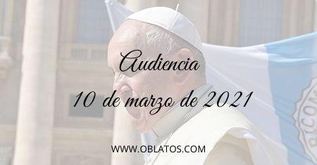 AUDIENCIA MARZO 10 2021