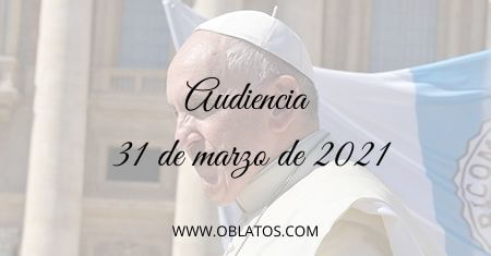 AUDIENCIA MARZO 31 2021