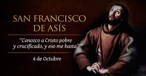 SAN FRANCISCO DE ASIS 4 DE OCTUBRE