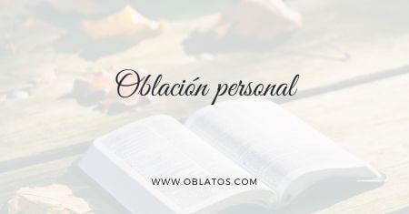 Oblación personal