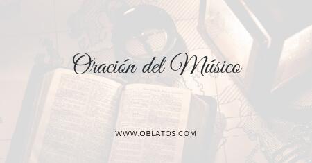 Oración del músico