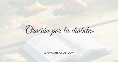 Oración por la diabetes