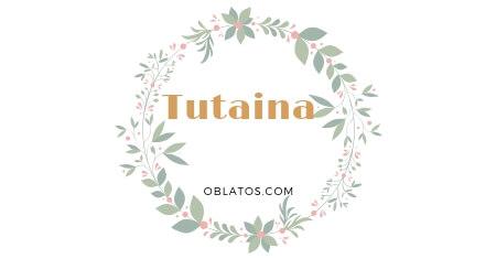 TUTAINA CANCIÓN