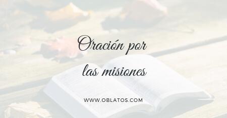 Oración por las misiones
