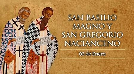 San Basilio Y San Gregorio De Nacianzo 2 De Enero