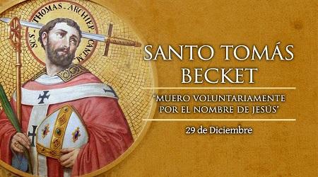 Santo Tomás Becket imagen