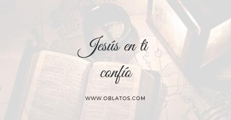 Jesús en tí confío