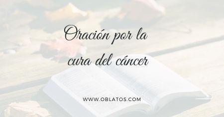 Oración por la cura del cáncer