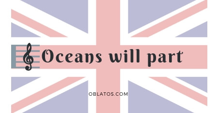 Oceans will part