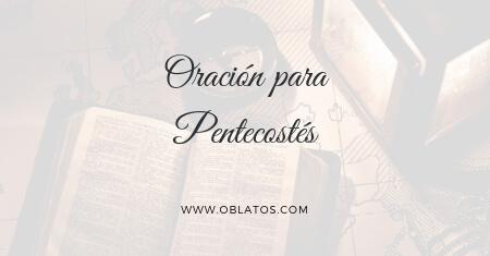 oración para Pentecostés