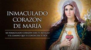 CONSAGRÉMONOS AL CORAZÓN INMACULADO DE MARÍA