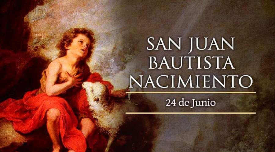 natividad de Juan Bautista