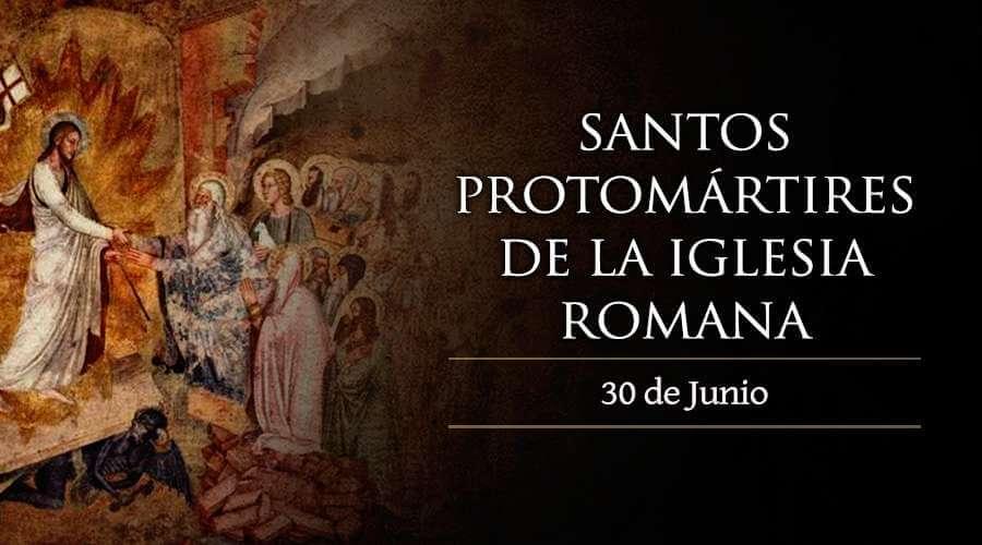 primeros mártires de la santa iglesia romana