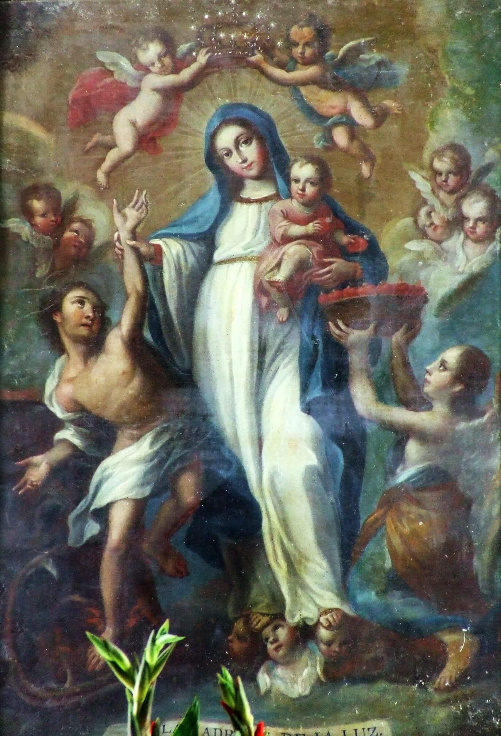 María madre santísima de la luz