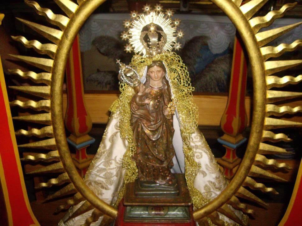 Virgen de Guadalupe la Gomera