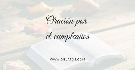 Oración por el cumpleaños