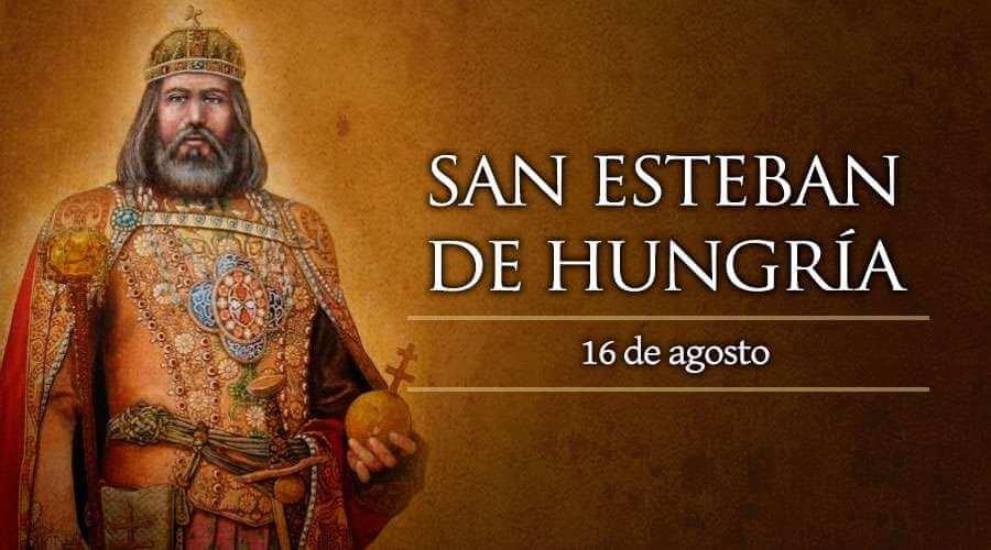 San Esteban rey de Hungría
