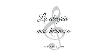 LA ALEGRÍA MÁS HERMOSA