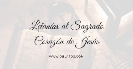LETANIAS AL SAGRADO CORAZÓN