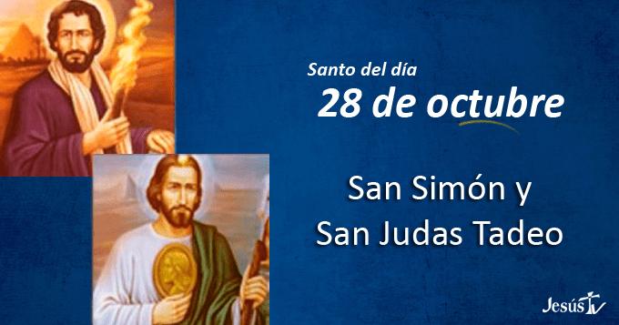 Santos Simón y Judas Tadeo