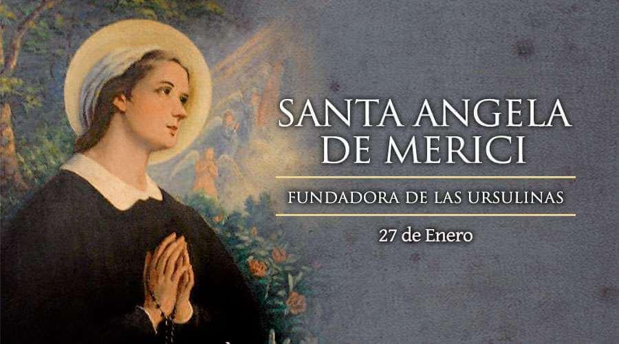 Santa Ángela de Merici