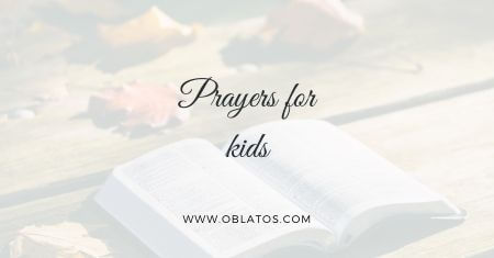 Prayers for kids