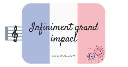 Infiniment grand impact