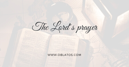The Lord´s prayer