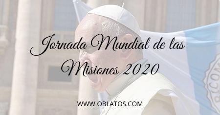JORNADA MUNDIAL DE LAS MISIONES 2020