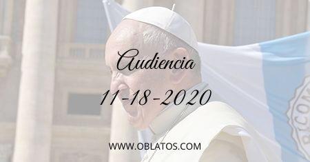 AUDIENCIA NOVIEMBRE 18 2020